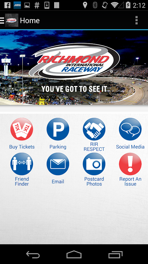 Richmond International Raceway - screenshot