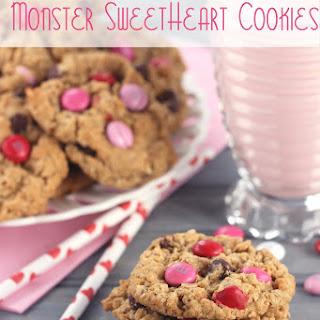Monster Sweetheart Cookies.