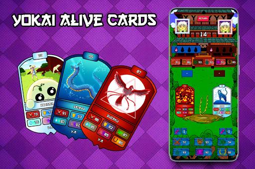 Yokai Alive Cards android2mod screenshots 2
