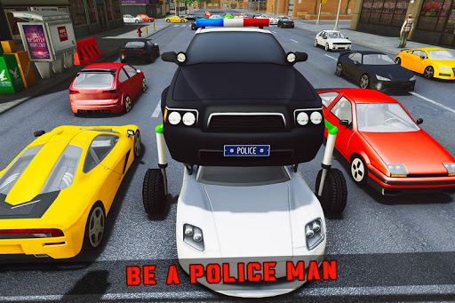 Elevated Car Racing Speed Driving Parking Game screenshot 2