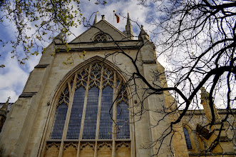 Photo: Another view of Southwark Cathedral before my walk through Borough Market