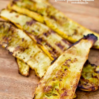 Easy Grilled Yellow Squash.