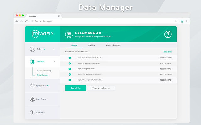 Data Manager by Privately
