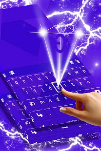 Purple Keys Theme for Keyboard - náhled