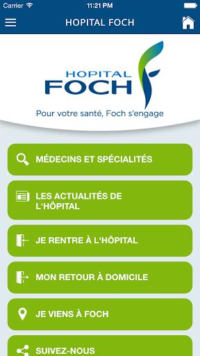 Hôpital Foch screenshot 1