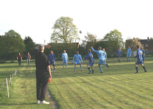 Photo: 22/04/09 v Ickwell & Old Warden (BFLP) 4-1 - contributed by Martin Wray