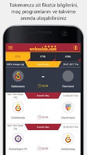 Webaslan - Galatasaray Haber- screenshot thumbnail