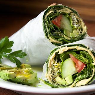 Collard Greens Wraps Recipes.