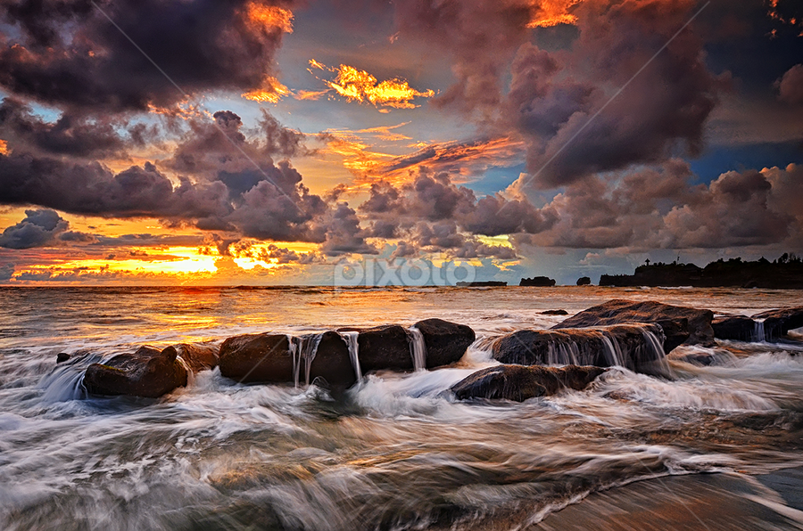 World is ahead by Hendri Suhandi - Landscapes Beaches ( bali, sunset, beach )