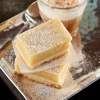 Gooey Butter Shortbread Bars.