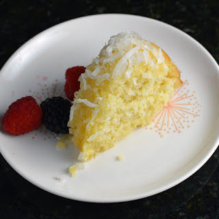 Sensational Coconut Bundt Cake.