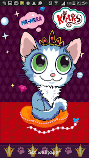 Kitties Live Wallpaper- screenshot thumbnail