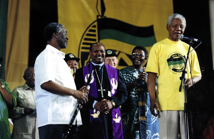 The ANC's elective conference of 1997, when Thabo Mbeki succeeded Nelson Mandela as party president, took place at a time when the party was very different to what it is today. Picture: TBG Archives