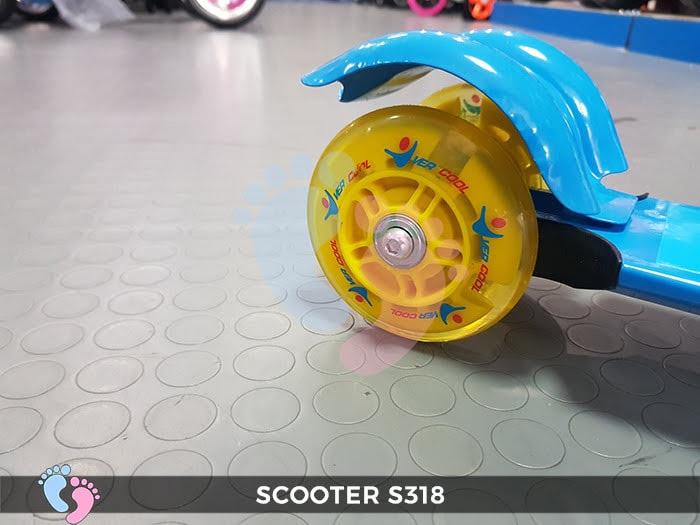 Xe trượt Scooter 3 bánh Broller S318 6