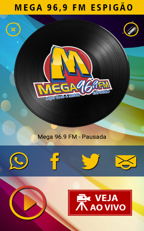 Rádio Mega 96 FM- screenshot