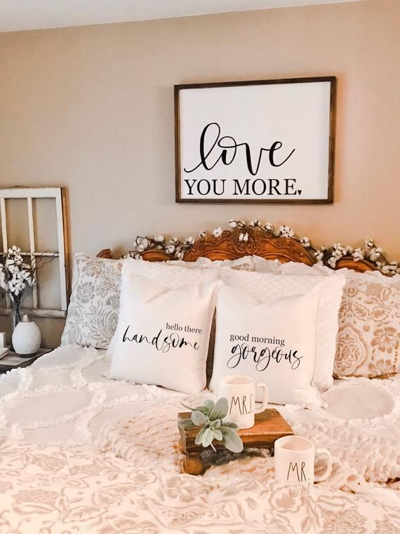 More Pillows On Couples Bed