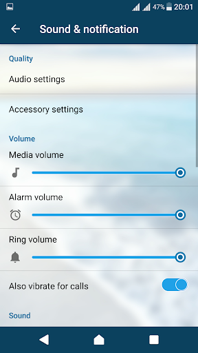 Cool Waves Theme For Xperia screenshot 4