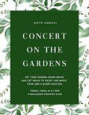 Concert on the Gardens - Flyer item
