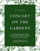 Concert on the Gardens - Flyer item