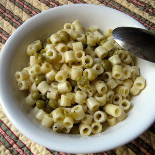 Super Simple Italian – Pasta Piselli (pasta with peas)