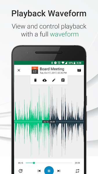 Parrot – Voice Recorder v3.4.3 [Pro]