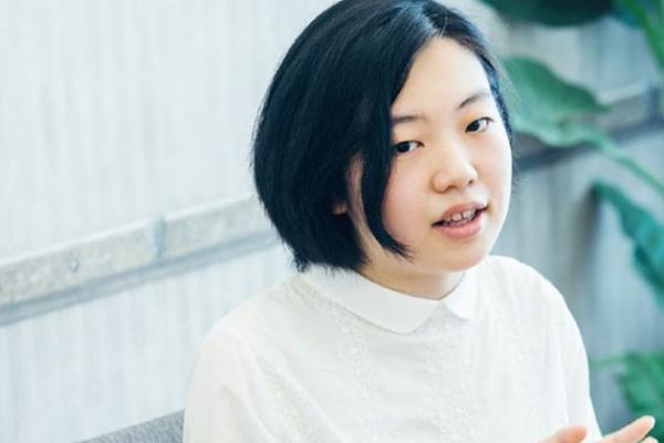 STEAM CAREER MAGAZINE  でインタビューさせていただいた中嶋花音さんの写真