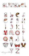 """Photo: """"Spills and Spoons Alphabet"""""""