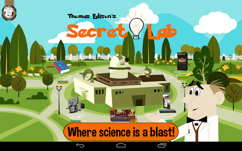 Thomas Edison's Secret Lab- screenshot thumbnail