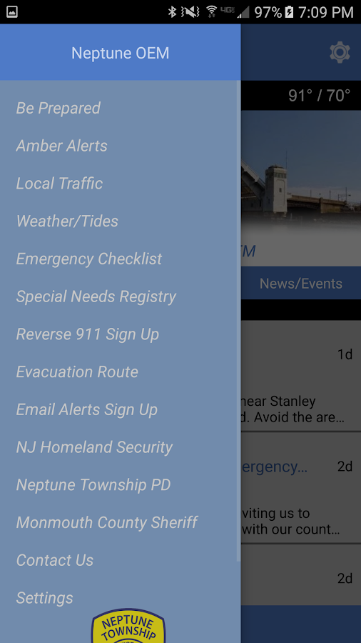 Neptune Township OEM- screenshot
