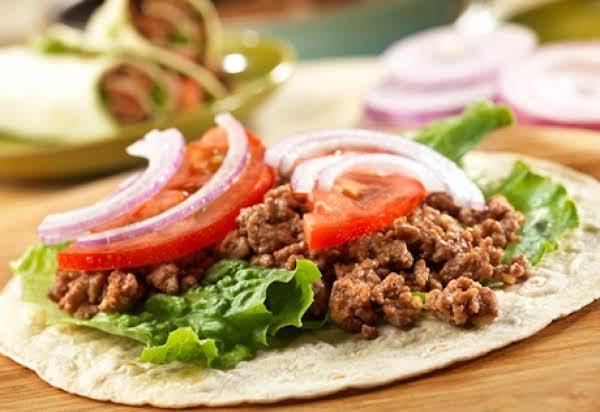 Beef Wrap Ups Recipe