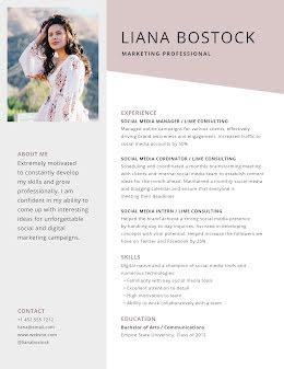 Liana T. Bostock - Resume item