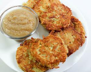 Quinoa and Potato Latkes