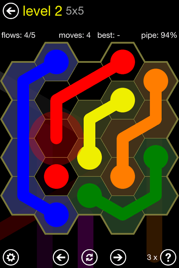 Flow Free: Hexes- screenshot