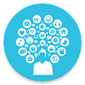 Social Media - All in one icon