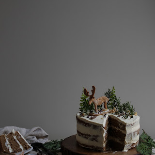 winter spiced coffee cake for Malawi coffee blog party