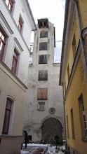 Photo: Tipiški Viduramžių pirklių namai