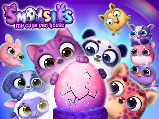 Smolsies - My Cute Pet House android2mod screenshots 11