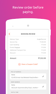 Russsh - Delivery App- screenshot thumbnail
