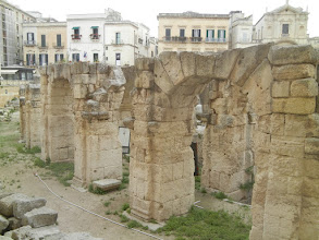 Photo: Roman Theater, Lecce