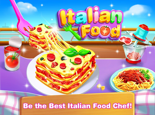 Cheese Lasagna Cooking -Italian Baked Pasta 1.4 Screenshots 1