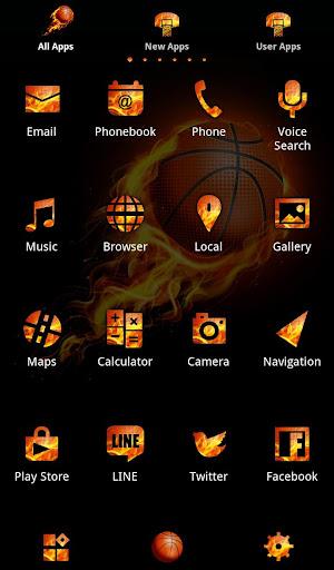 Fireball +HOME Theme 1.0.0 Windows u7528 3