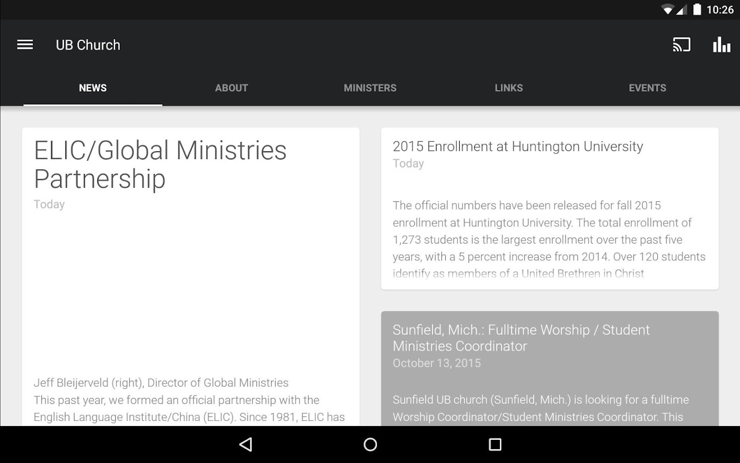 United Brethren Church- screenshot