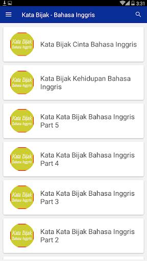 Kata Bijak Bahasa Inggris By Katasabardev Google Play