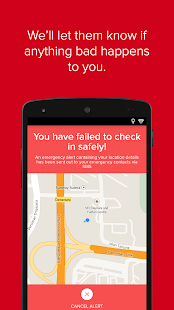 Watch Over Me - The Safety App- screenshot thumbnail