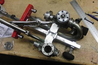 Photo: Nu een koker frame. Alles komt met klemverbindingen op het frame gemonteerd.