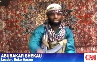 Abubakar Shekau, kẻ cầm đầu Boko Haram Ảnh: CNN