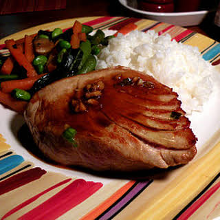 Asian Marinated Tuna Steaks.