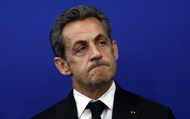 Former French President Nicolas Sarkozy. Picture: REUTERS