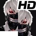 ken kaneki riza touka ghoul wallpaper icon