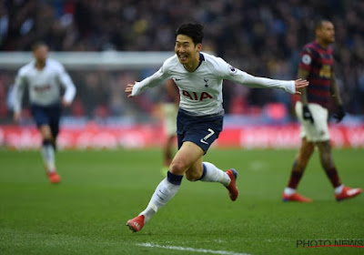 Heung-Min Son remporte un prix et se place devant Eden Hazard